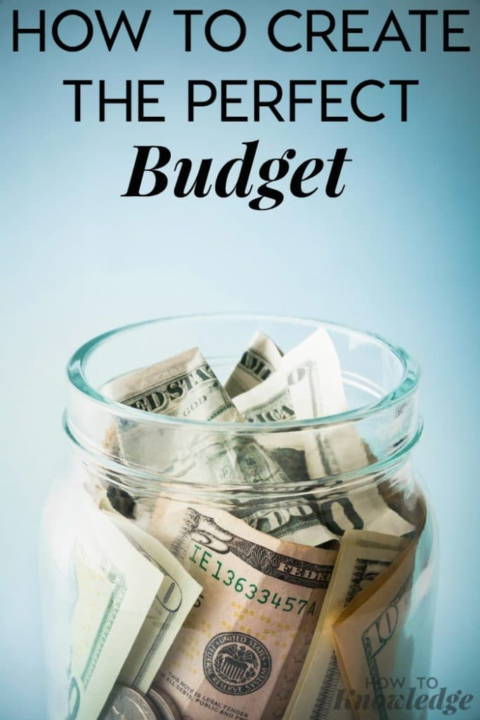 How to Create The Perfect Budget