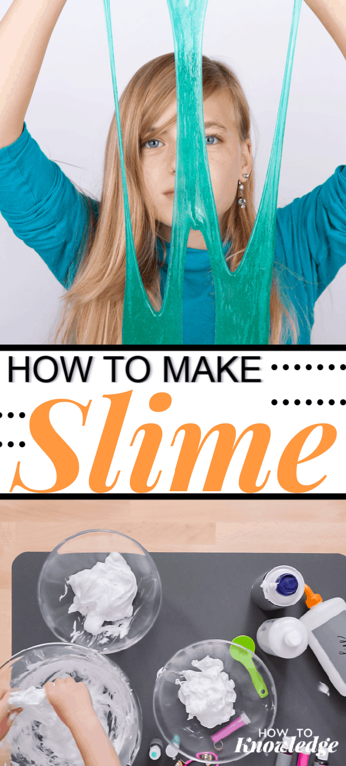 easiest slime recipe